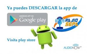 descarga la app de radio sepa en android
