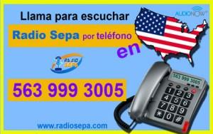 radio sepa por telefono en USA