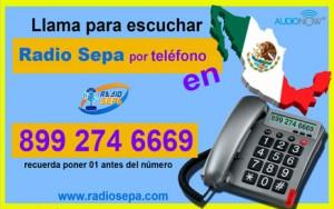 telefono para escuchar radio sepa en Mexico