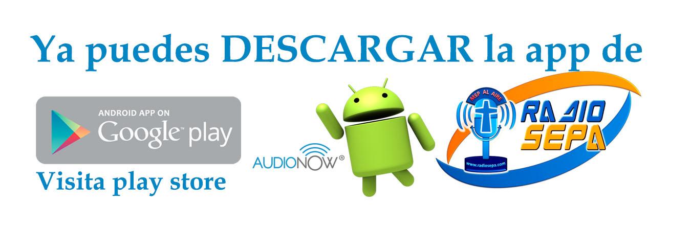 logo de app radio sepa  en pagina android